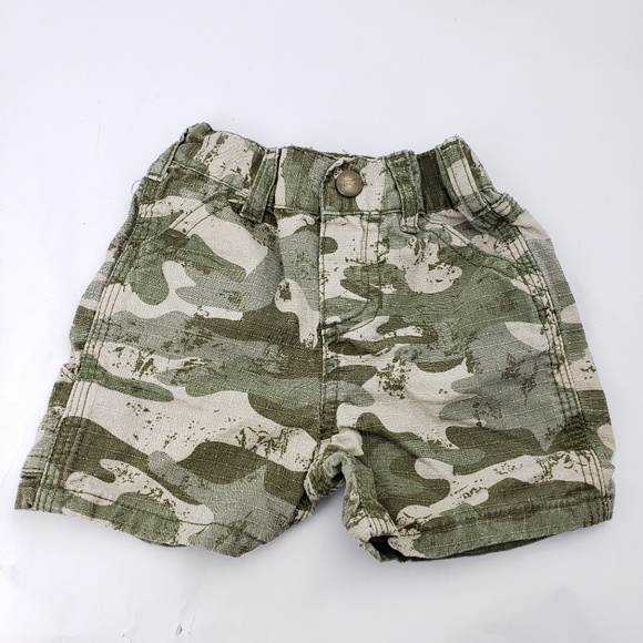 Baby & Toddler Clothing Boys' Clothing (newborn-5t) Helpful Size 4t Carhartt Camo Shorts